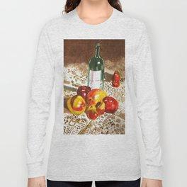 Sunny Poms and Mangoes Long Sleeve T-shirt