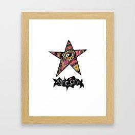 We all shine on. Framed Art Print
