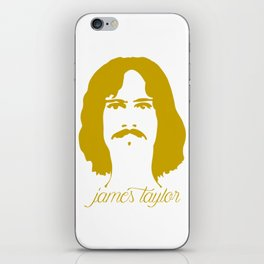 James Taylor iPhone Skin