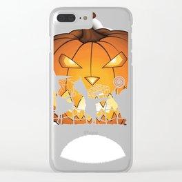 10354 Hakuna matata hallow Clear iPhone Case