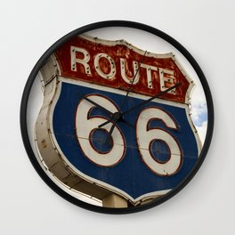 U.S. Route 66  Wall Clock
