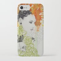 ruby iPhone & iPod Cases featuring Ruby by Aggelikh Xiarxh