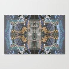 The Space Excavation Terror Canvas Print