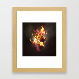 When you told me you loved me Framed Art Print