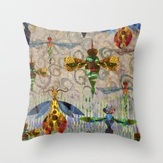 Free as a bug. Throw Pillow