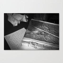 Writers Block 3 Canvas Print