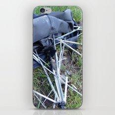 Umbrella Blues 3 iPhone & iPod Skin