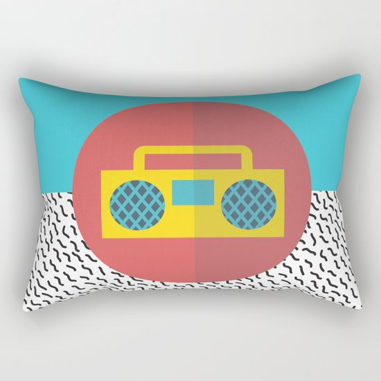 Nice People Like Music Rectangular Pillow