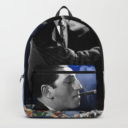 Gershwin Collage Portrait Backpack