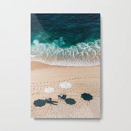 Beach Vacation Metal Print