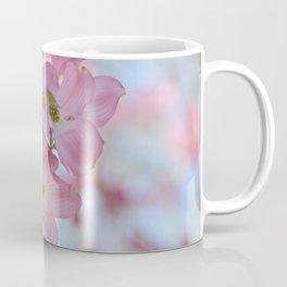 Pretty Dogwood Floral Coffee Mug