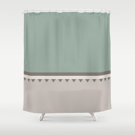 Jagged 5 Shower Curtain