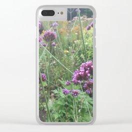 Flower garden #2 Clear iPhone Case