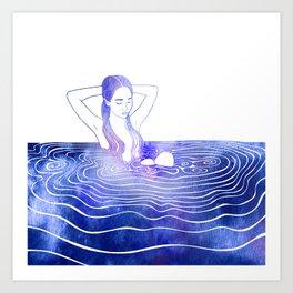 Nereid LXXVI Art Print