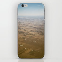 open fields iPhone Skin