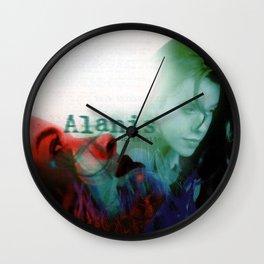 alanis morissette jagged little pill Wall Clock