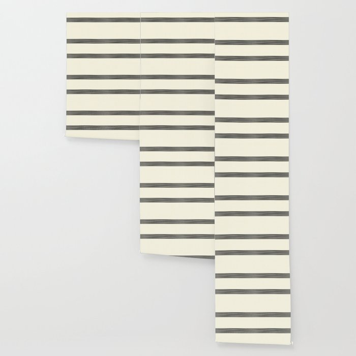 Band in Cream Wallpaper