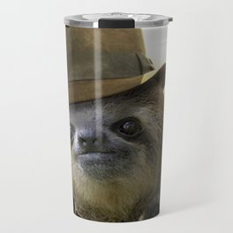 Archeologist Sloth Travel Mug
