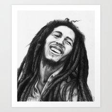 Marley ballpoint pen Art Print