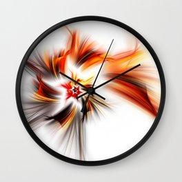 Devil's Star Wall Clock