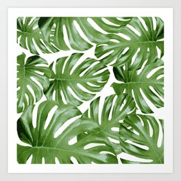 Leaves 3 Art Print