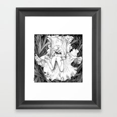 asc 566 - La butineuse (Seeking for sweetness) Framed Art Print