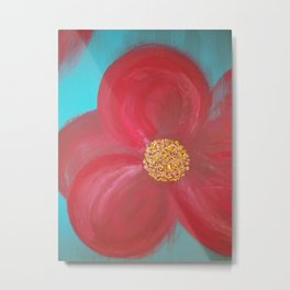 Tiffany's Flower Metal Print