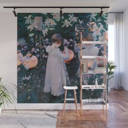 Carnation, Lily, Lily, Rose - John Singer Sargent Wall Mural