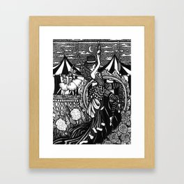 Dark Circus Framed Art Print