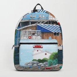 Laughing Gulls Landing Backpack