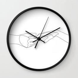 Pop The Love Wall Clock