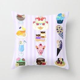 Sailor Senshi Sweets Throw Pillow