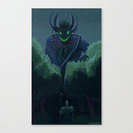 Vejigante come coco! Canvas Print