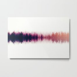 Sound waves -fall Metal Print