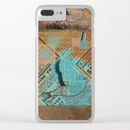 Paper Bird 3D Clear iPhone Case