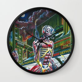 IRON MAIDEN IYENG 18 Wall Clock