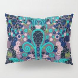 """Gustav Klimt """"Textile design - Model 2"""" edited (1) Pillow Sham"""