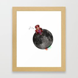 We're all stories in the end. Framed Art Print