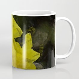 Yellow Daffodils Impressionist Painting Coffee Mug
