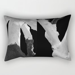 Perspective of Two Trees Rectangular Pillow