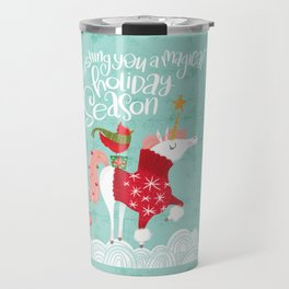 Wishing You a Magical Holiday Season Travel Mug