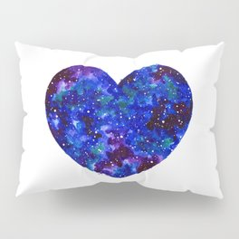 Space Heart Pillow Sham