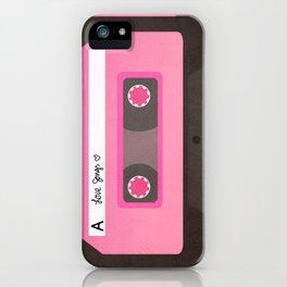 Mixtape iPhone Case