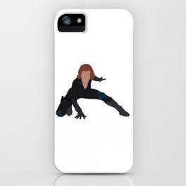 I Am a Black Widow iPhone Case