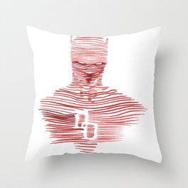 DD Throw Pillow
