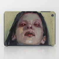 three of the possessed iPad Cases featuring Possessed by aaronbmiller.com