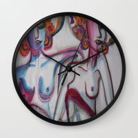 friendship Wall Clocks featuring FRIENDSHIP by Loosso