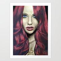 Red Madness Art Print
