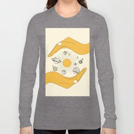 The Universe in Your Hands Long Sleeve T-shirt