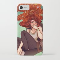 creativity iPhone & iPod Cases featuring Creativity by Cyarin